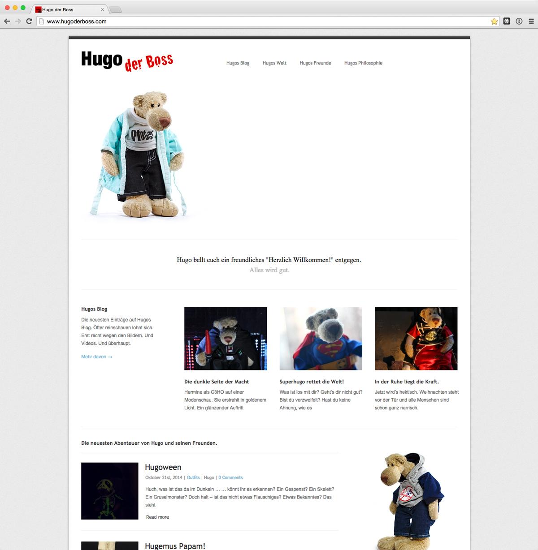 Hugos Website